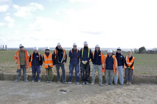 The team from Zone 23 (Minster Services)